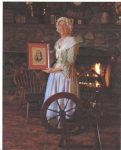 Margie Wilson as Anne Justis Morton, wife of John Morton, a signer of the Declaration of Independence