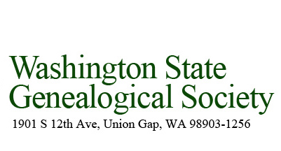 Washington State Genealogical Society Logo